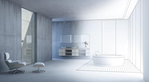 3D / CGI bathroom design