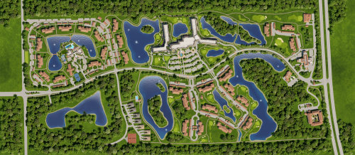 3D / CGI Rendering city map