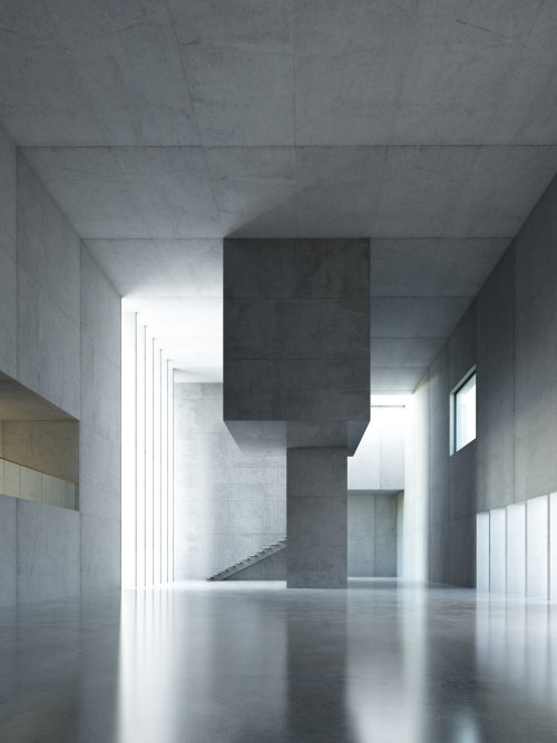 3D / CGI hallway
