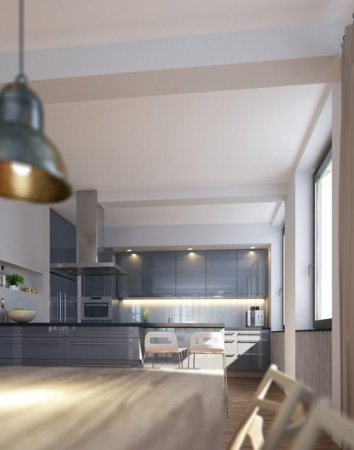 3D / CGI kitchen design