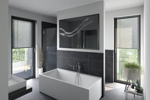 3d / CGI bathroom and tub design