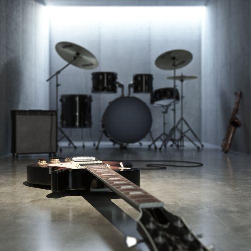 3d / CGI Musical hall