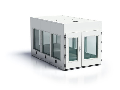 3d / CGI Glass containment