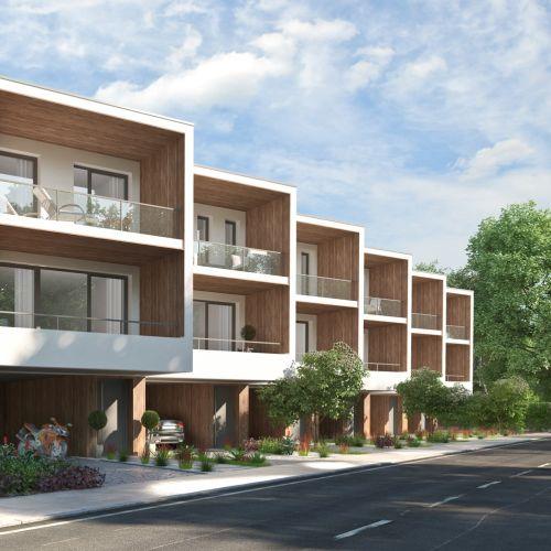 3d / CGI Row house design
