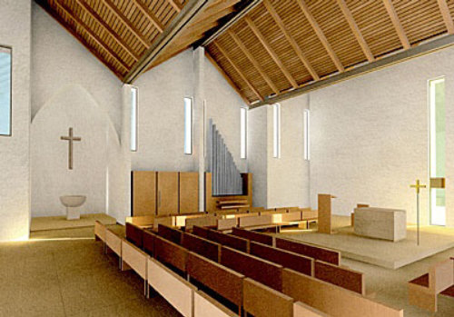 Architecture illustration of Kirche