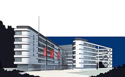 Aspecta company graphic illustration