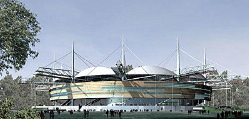 Waldstadion graphic design