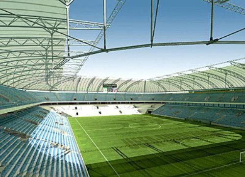 Graphic design of stadium