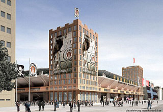 St.Pauli Stadion illustration