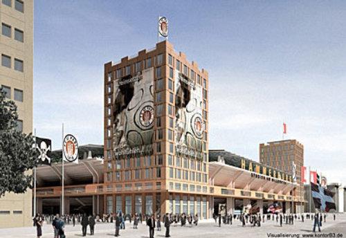 St.Pauli Stadion illustration