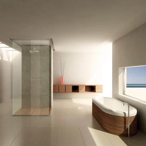 Bathroom 3D interior
