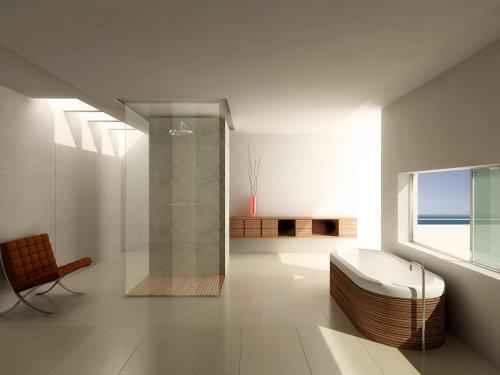 Bathroom 3D interior