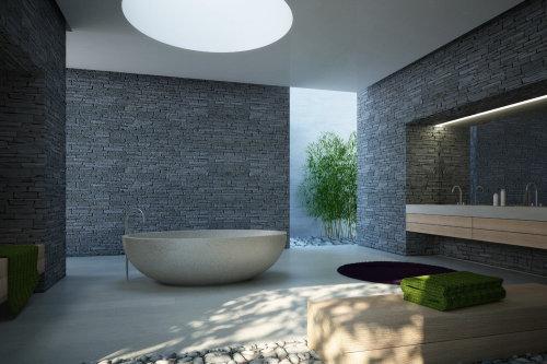 Illustration of bathroom tub