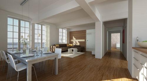 Realistic art of loft