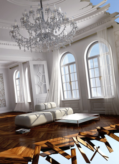Photorealistic illustration of Hall