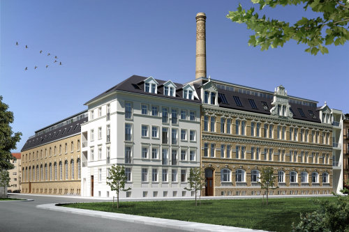 Leipzig Aromafabrik 1 3D illustration