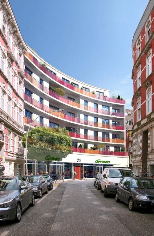 CGI Rendering design of Wohnhaus 2
