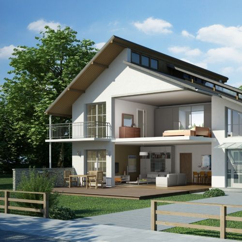 Architecture design of Schnitt EFM-Haus 2