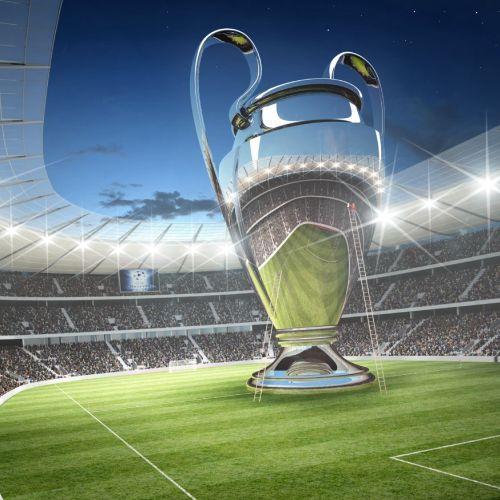 3d / CGI  CL Stadion - Architectural illustration