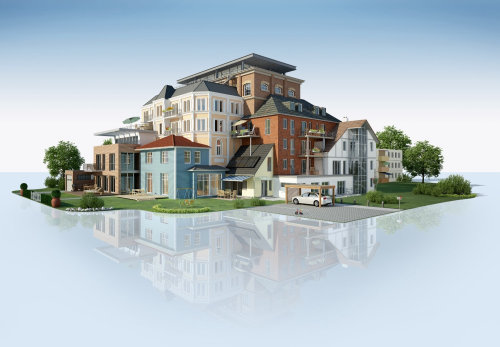 3d / CGI houses design