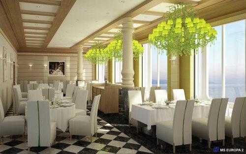3D / CGI Rendering restaurant hall