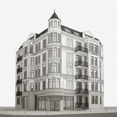 3d / CGI Building design