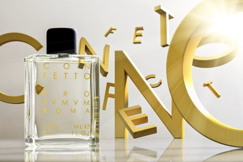 3d / CGI bottle and letters