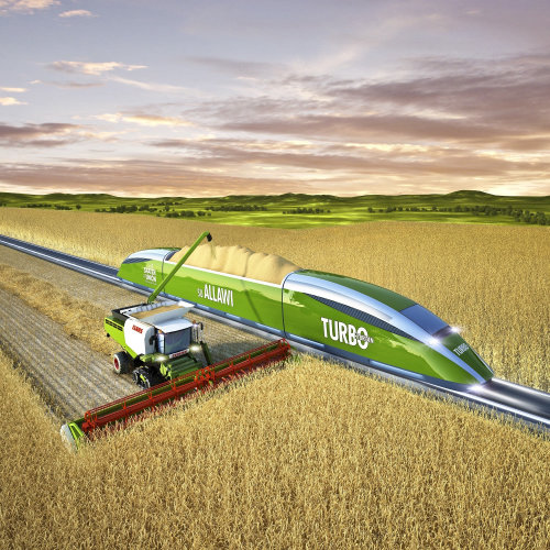 3D / CGI farming technology