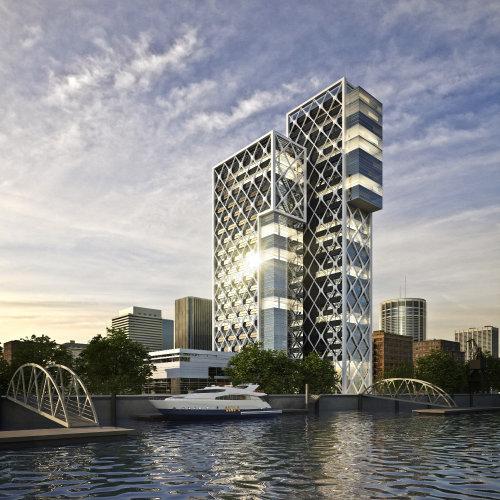3D / CGI Architecture building
