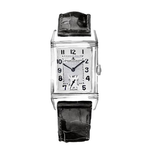 Classic silver watch