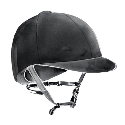 骑马头盔水彩艺术