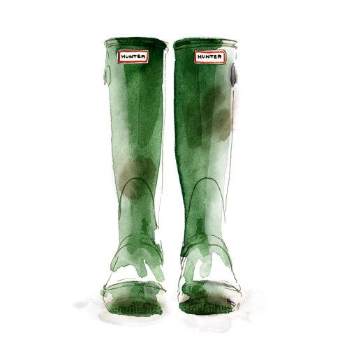 Wellingtons hunter boots