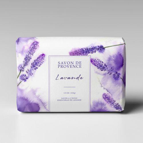 Packaging art of Lavender soap