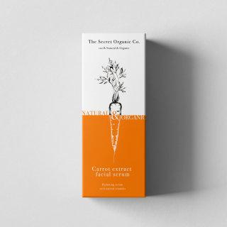 Carrot beauty face serum