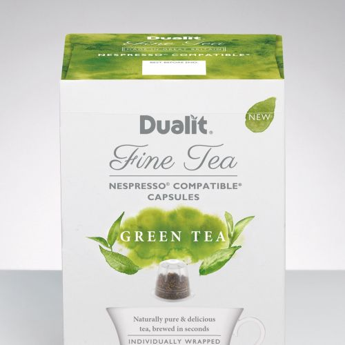 Dualit Green Tea packaging