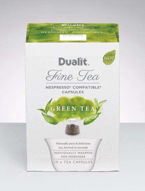 Dualit绿茶包装