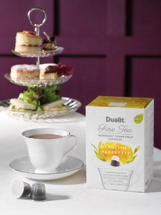 Illustration on English breakfast packaging
