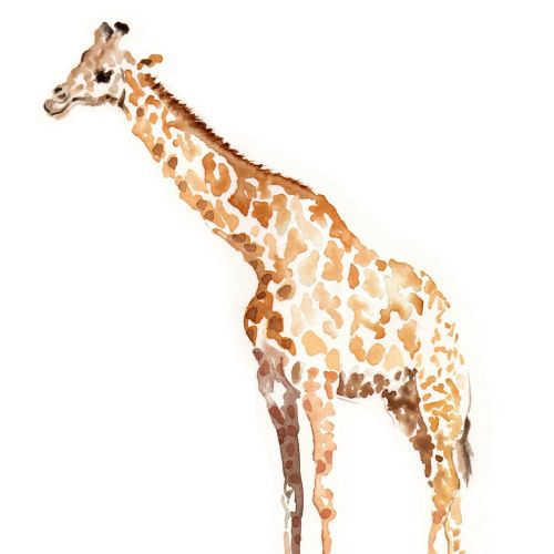 Beautiful art of Giraffe