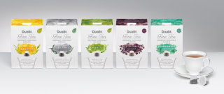 Water colour on Fine tea packaging