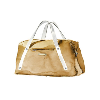 Ilustration of Duffle bag by Ollie Maxwell