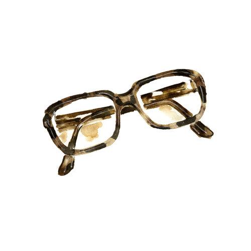 美丽的眼镜框