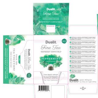 Dualit fine tea - Food & Drink illustration