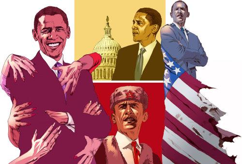 Obama Conceptual Pictograph