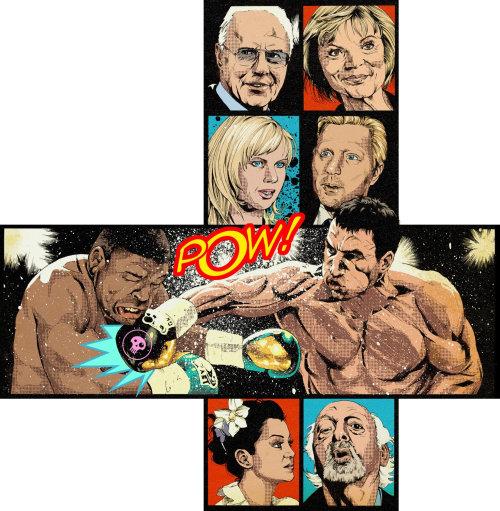 Klitschkos Boxing Fights