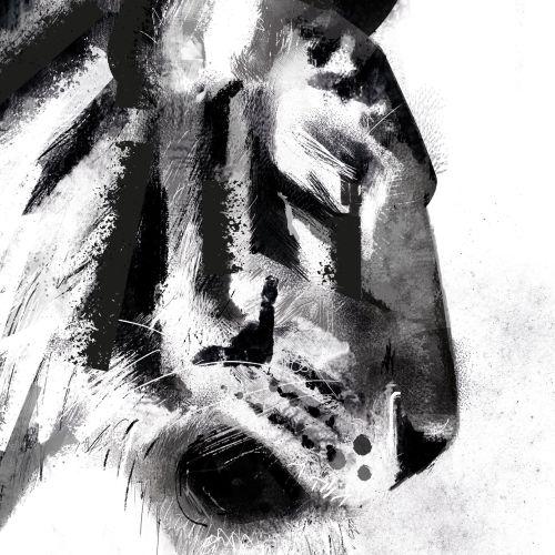 Paperface Black & White