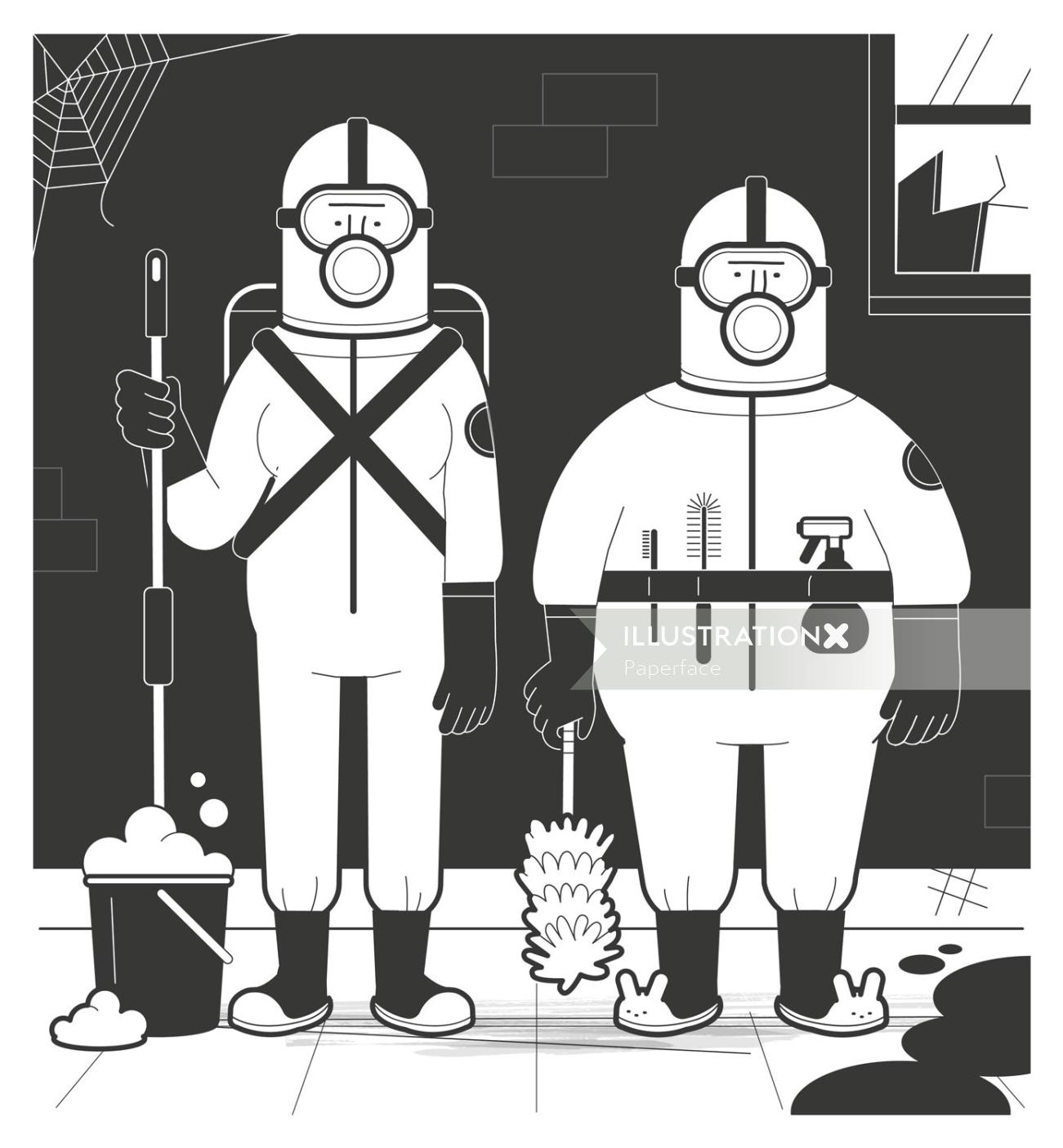 How Crime Scene Clean-up Works