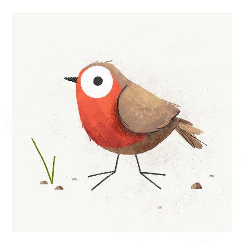 Robin de jardim animal