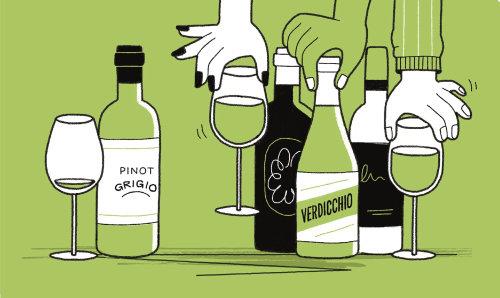 Alternatives de cette saison au Pinot Grigio