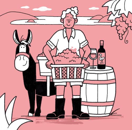 Mestre do estilo de vida do vinho