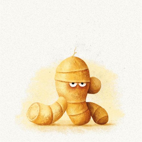 Gengibre mumificado